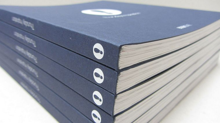 Perfect Bound Brochure white foil cover Beyond Analysis